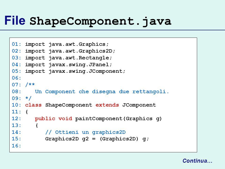 File ShapeComponent.java