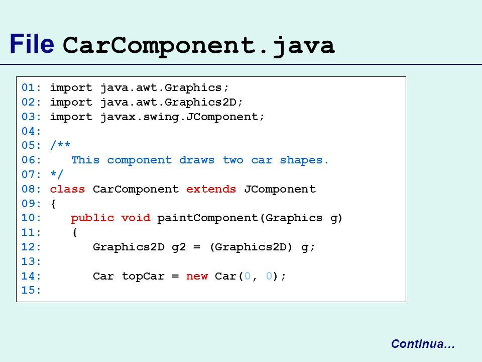 File CarComponent.java
