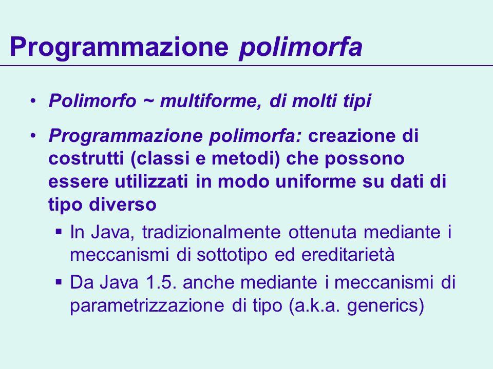 Programmazione polimorfa