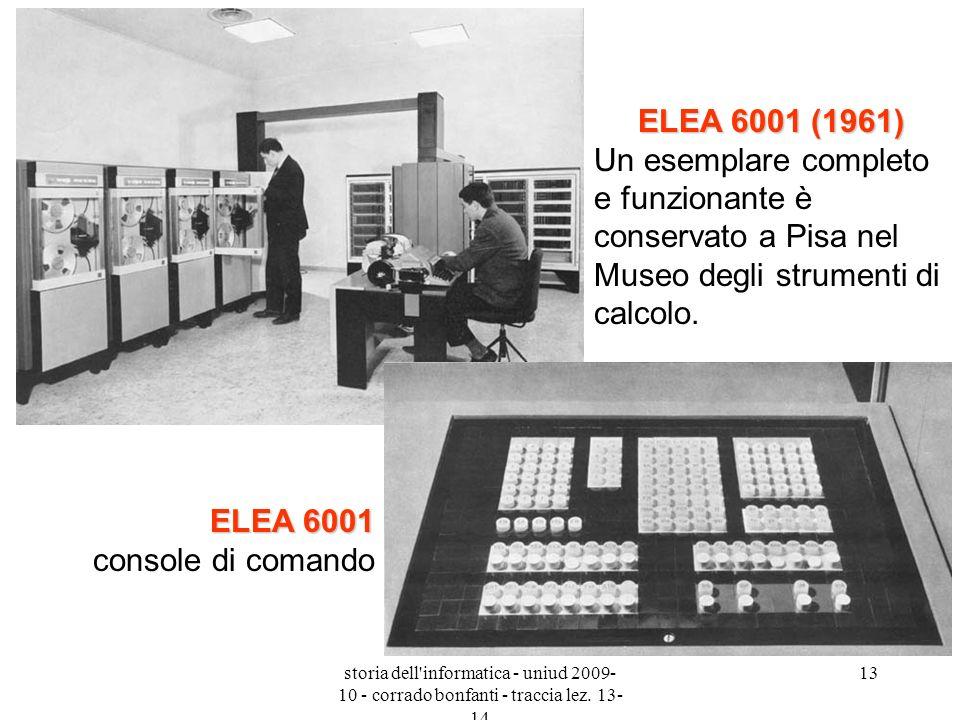 ELEA 6001 console di comando