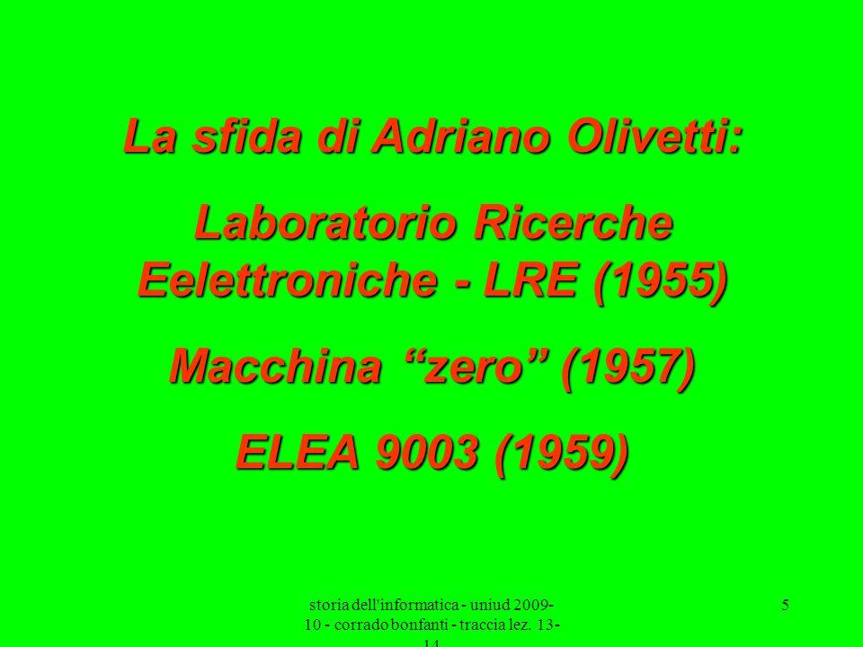 La sfida di Adriano Olivetti: