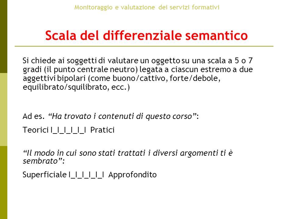 Scala del differenziale semantico