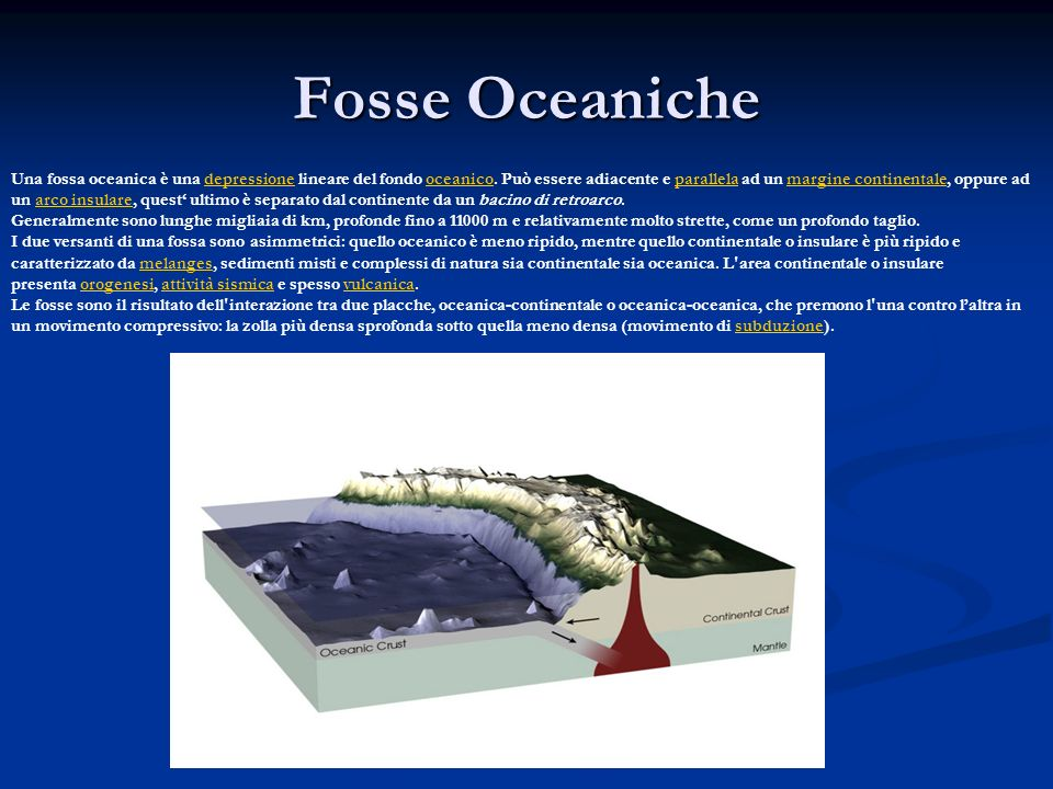 Fosse Oceaniche