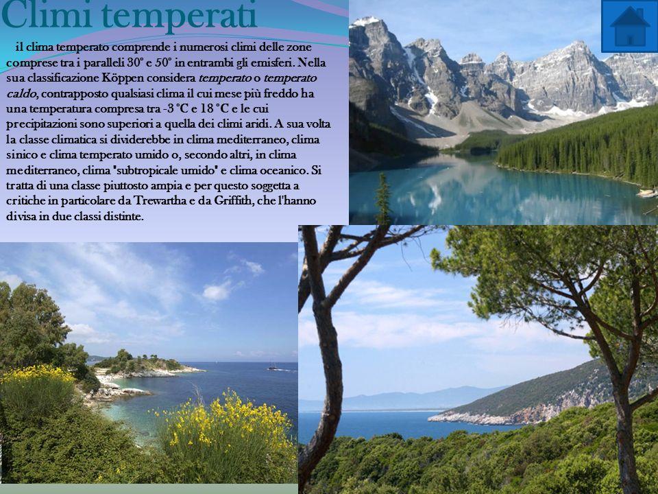 Climi temperati