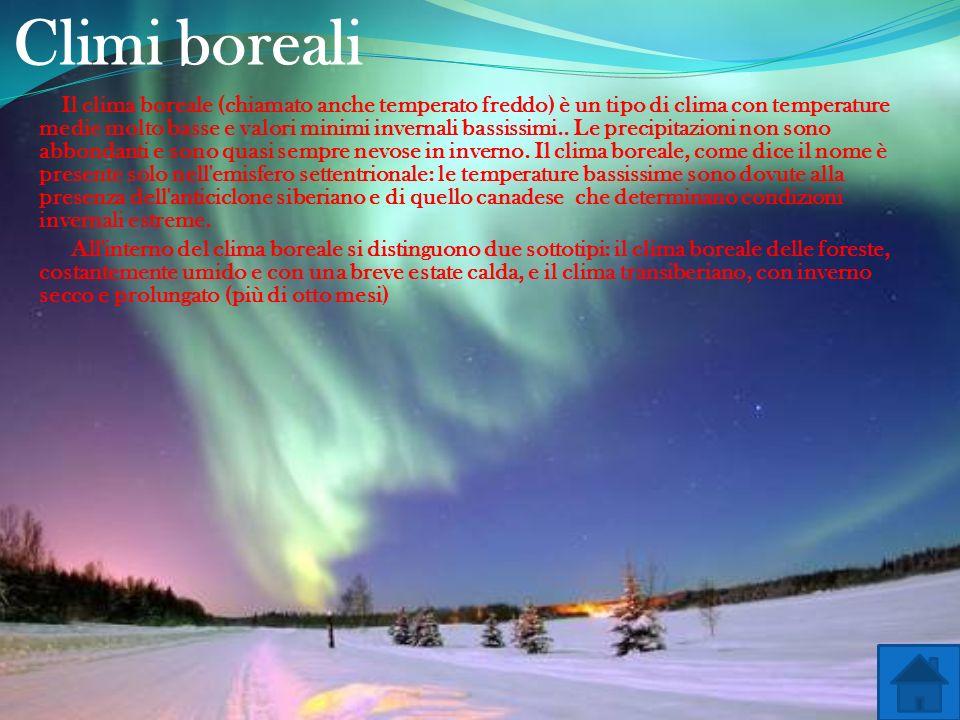 Climi boreali