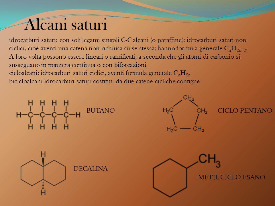 Alcani saturi