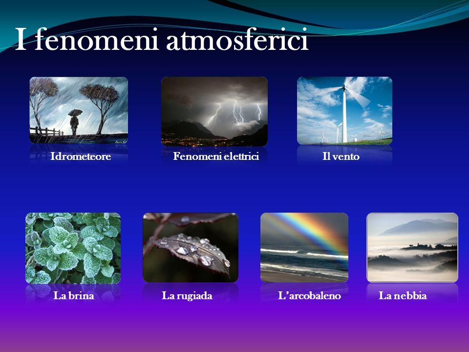 I fenomeni atmosferici