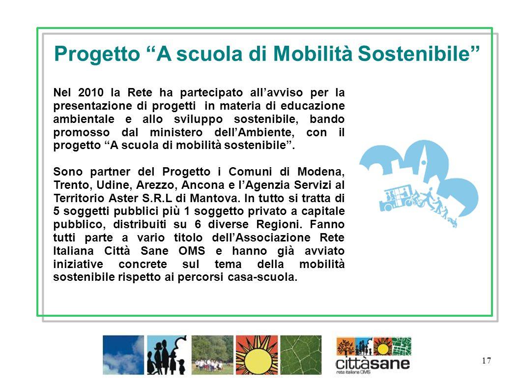 Progetto A scuola di Mobilità Sostenibile