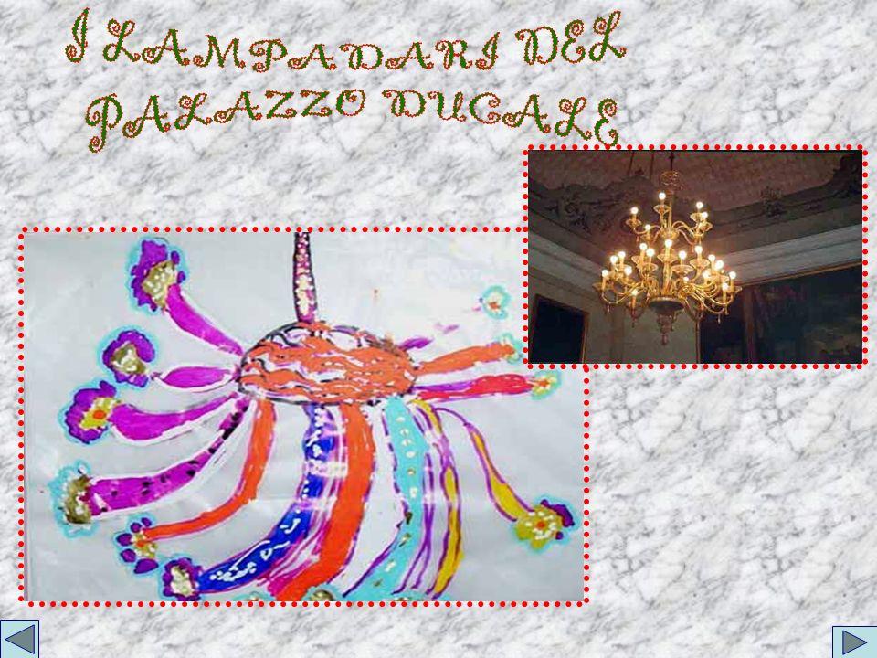I LAMPADARI DEL PALAZZO DUCALE