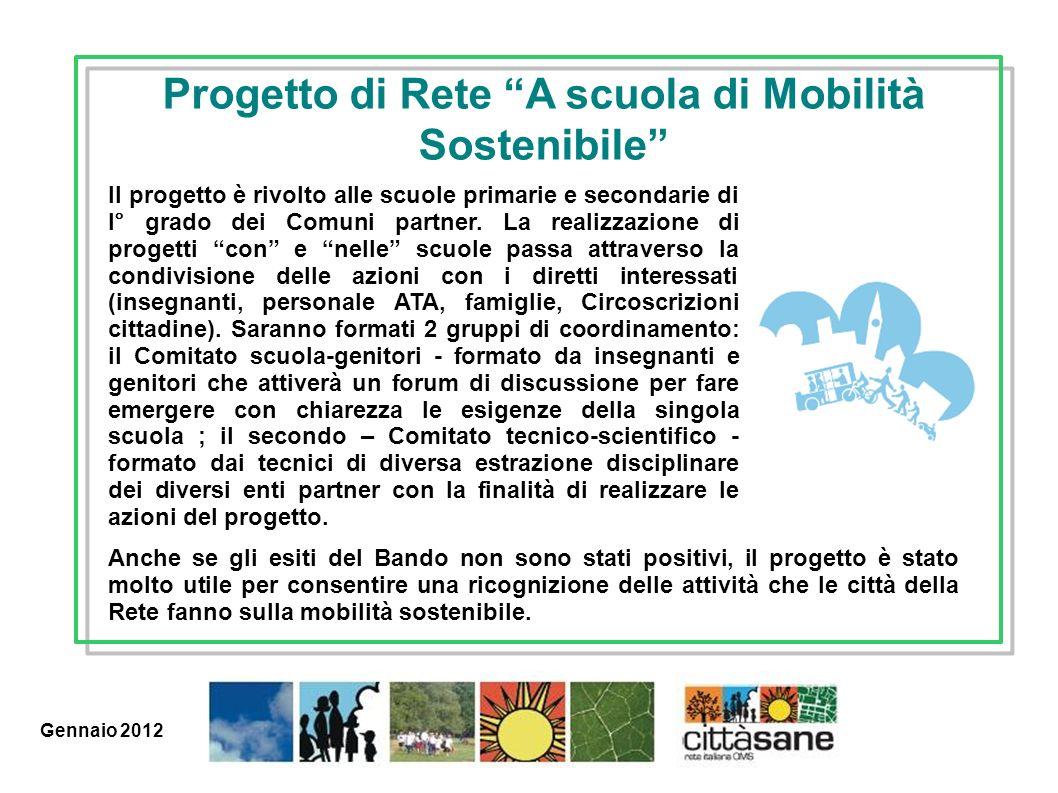 Progetto di Rete A scuola di Mobilità Sostenibile