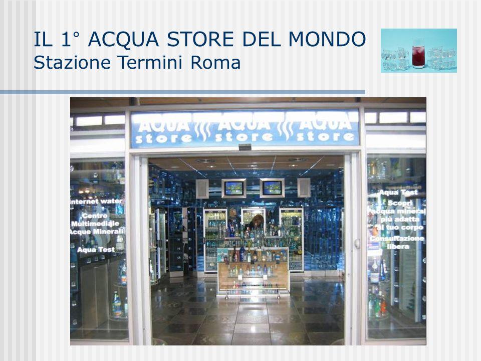 IL 1° ACQUA STORE DEL MONDO Stazione Termini Roma