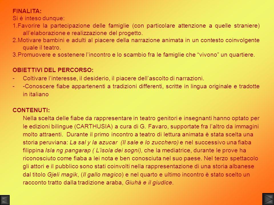 OBIETTIVI DEL PERCORSO: