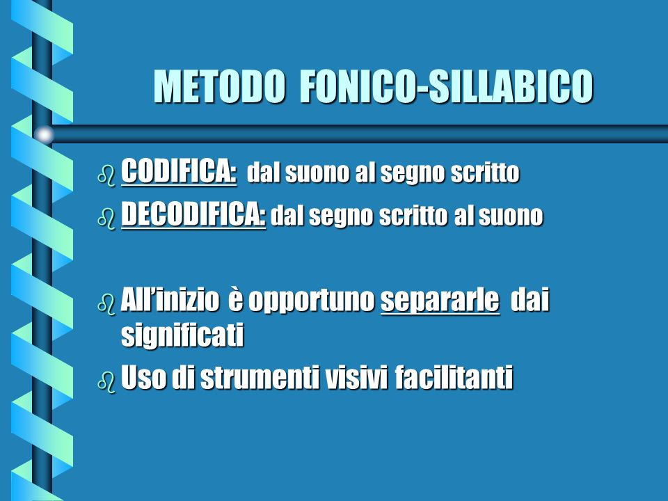 METODO FONICO-SILLABICO