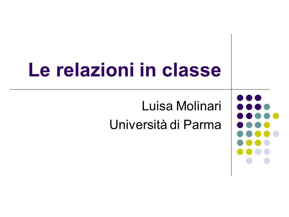 Luisa Molinari Università di Parma