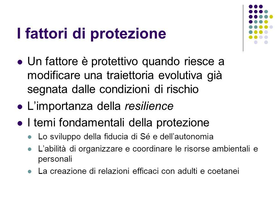 I fattori di protezione