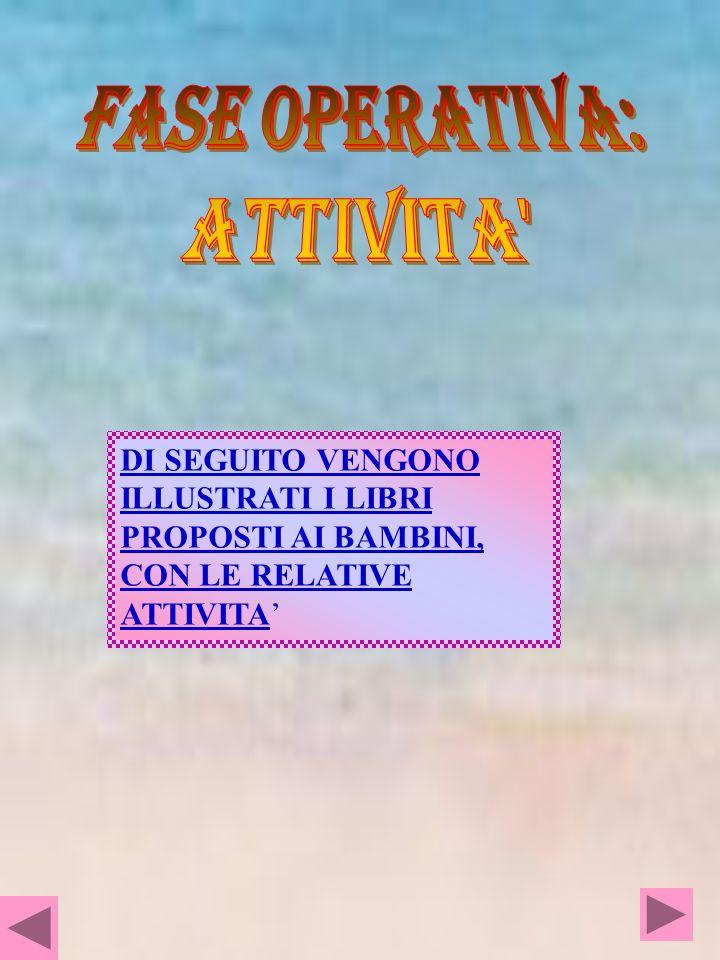 FASE OPERATIVA: ATTIVITA