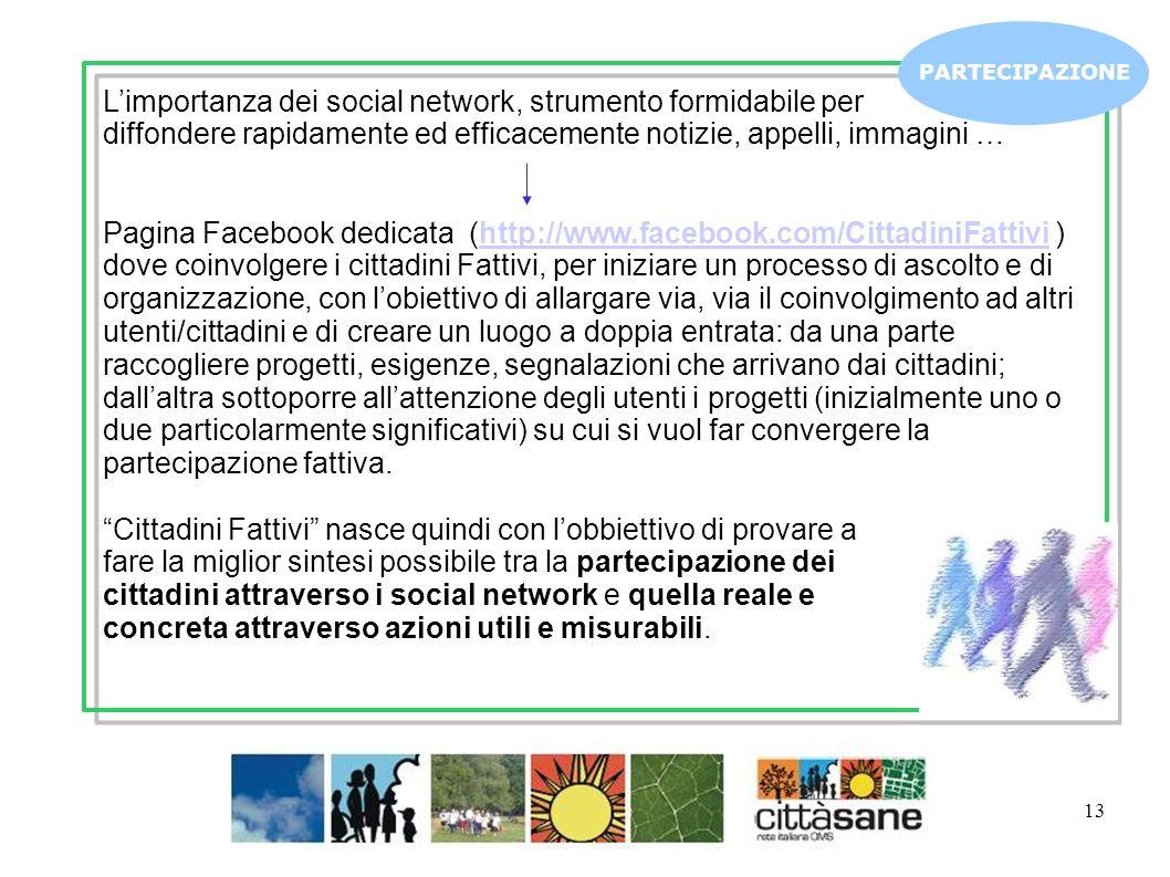 L'importanza dei social network, strumento formidabile per