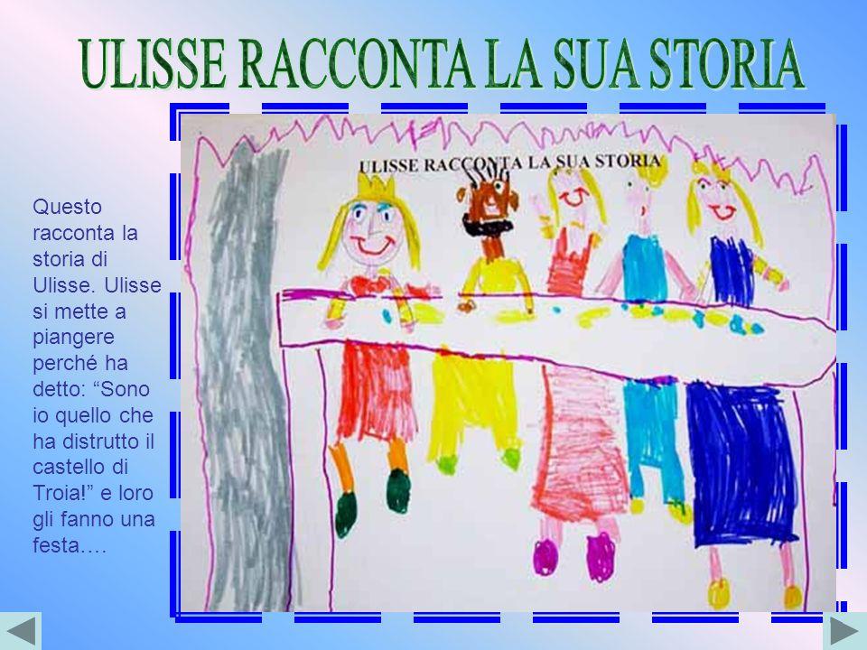 ULISSE RACCONTA LA SUA STORIA