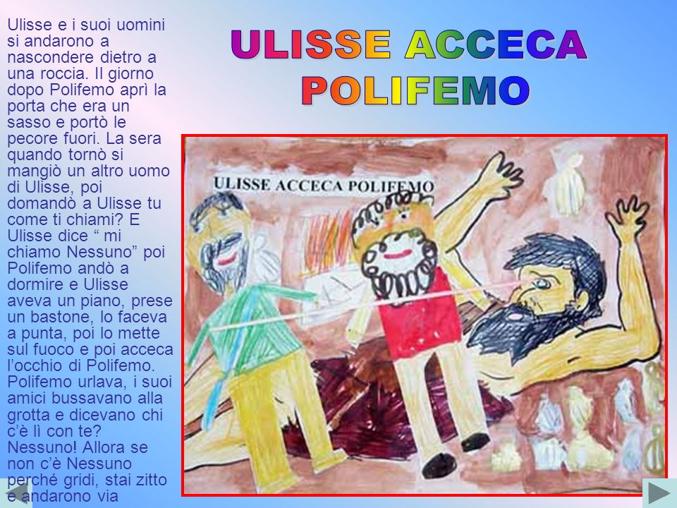 ULISSE ACCECA POLIFEMO