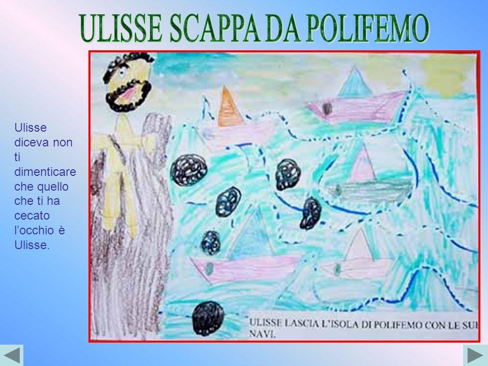ULISSE SCAPPA DA POLIFEMO