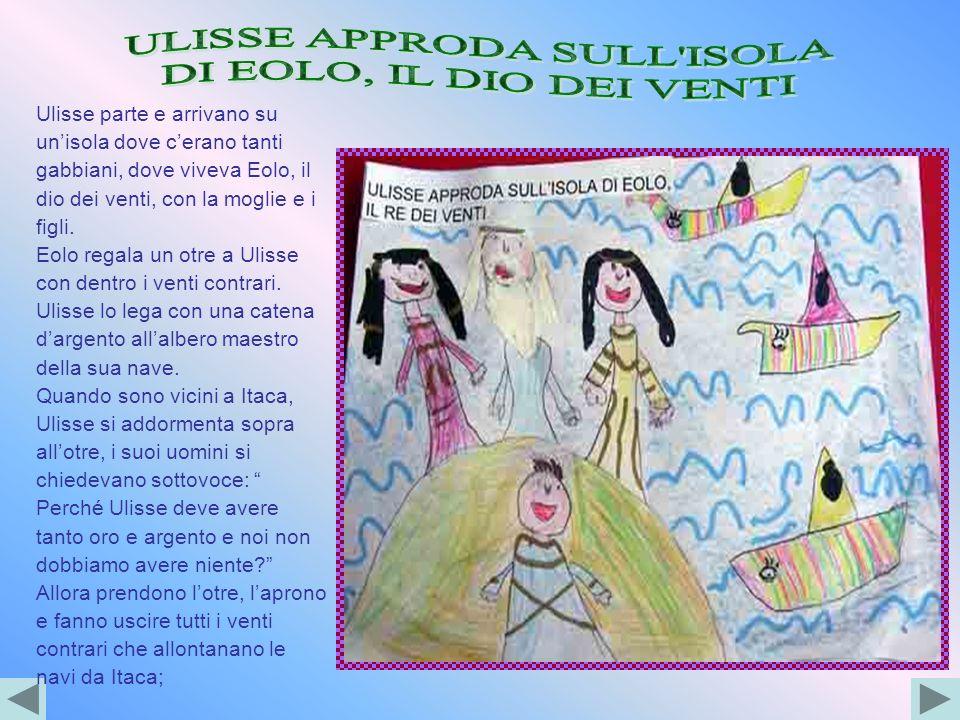 ULISSE APPRODA SULL ISOLA