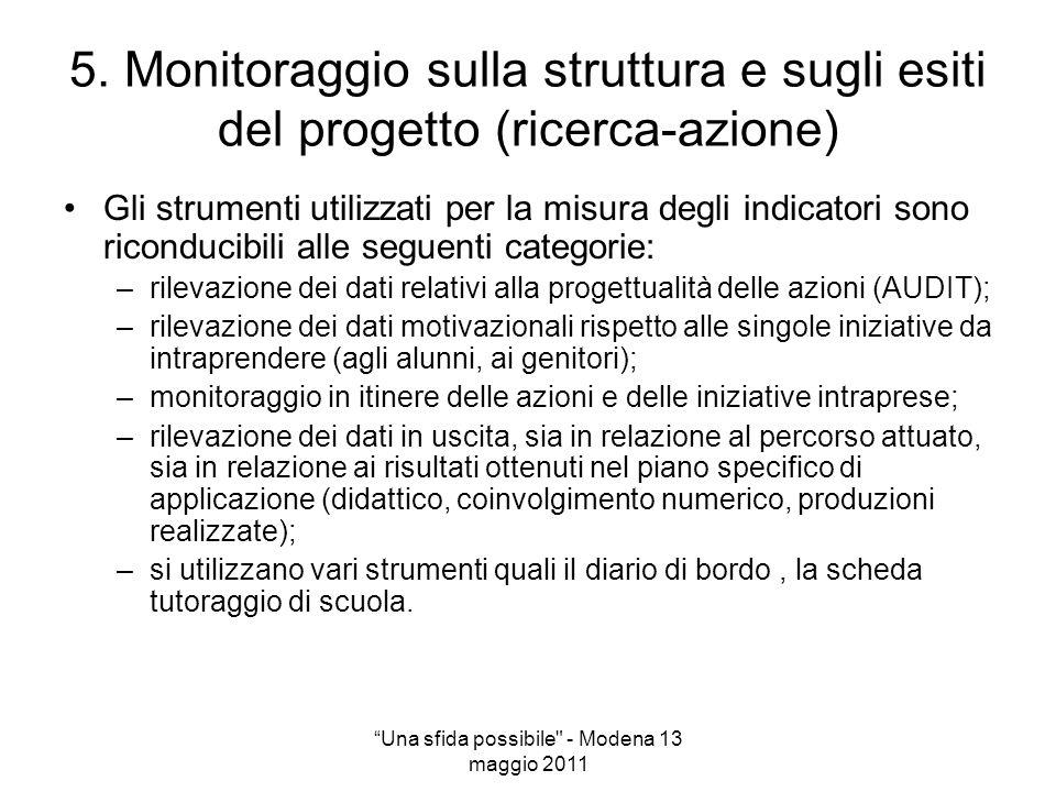 Una sfida possibile - Modena 13 maggio 2011