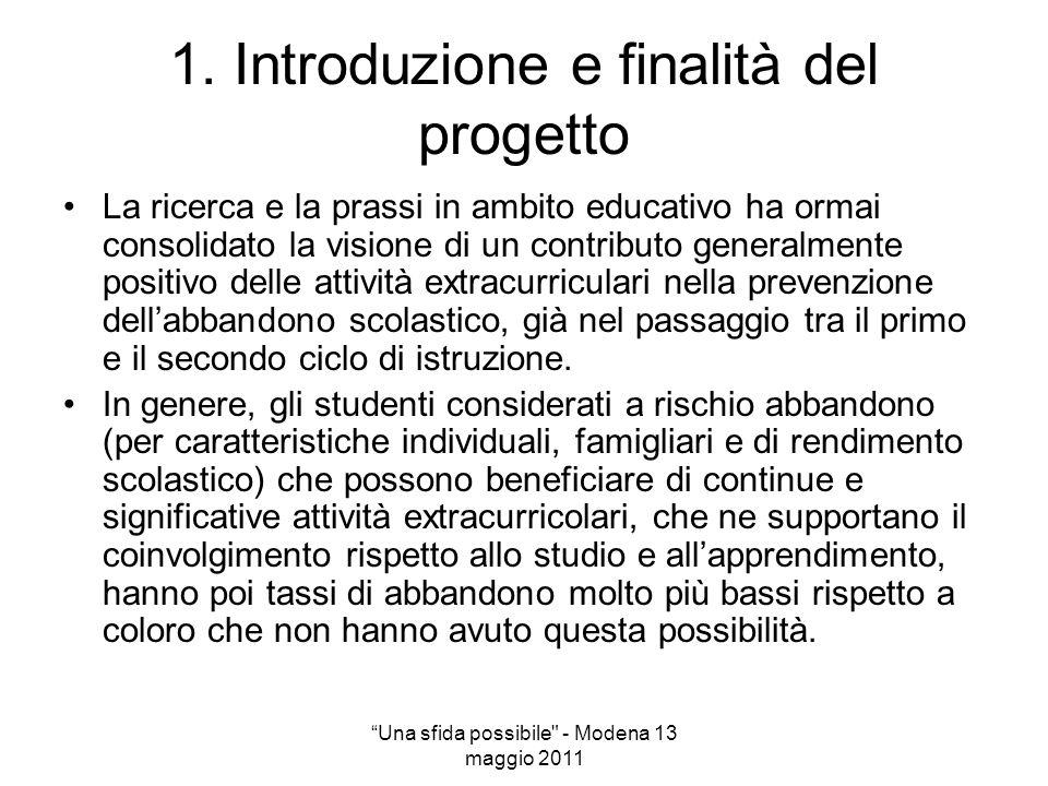 1. Introduzione e finalità del progetto