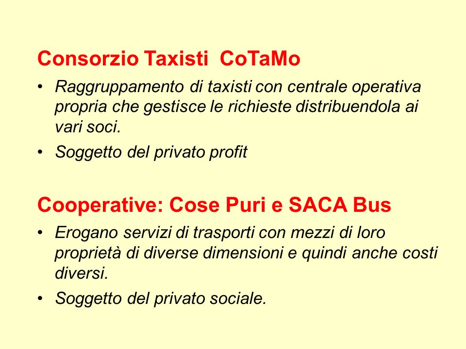 Consorzio Taxisti CoTaMo