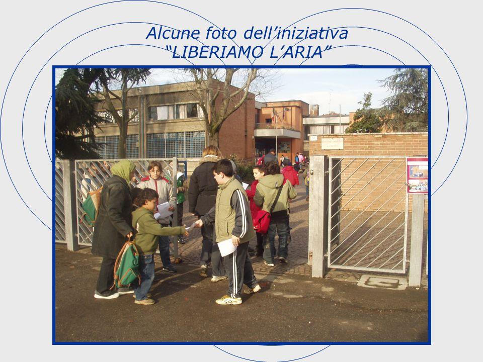 Alcune foto dell'iniziativa LIBERIAMO L'ARIA