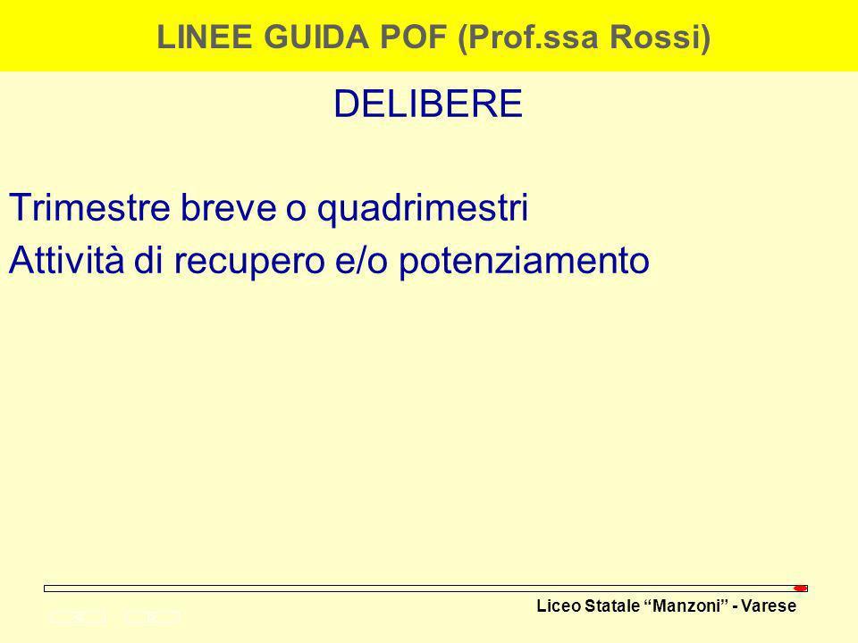 LINEE GUIDA POF (Prof.ssa Rossi)