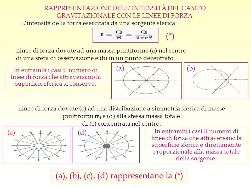 (a), (b), (c), (d) rappresentano la (*)