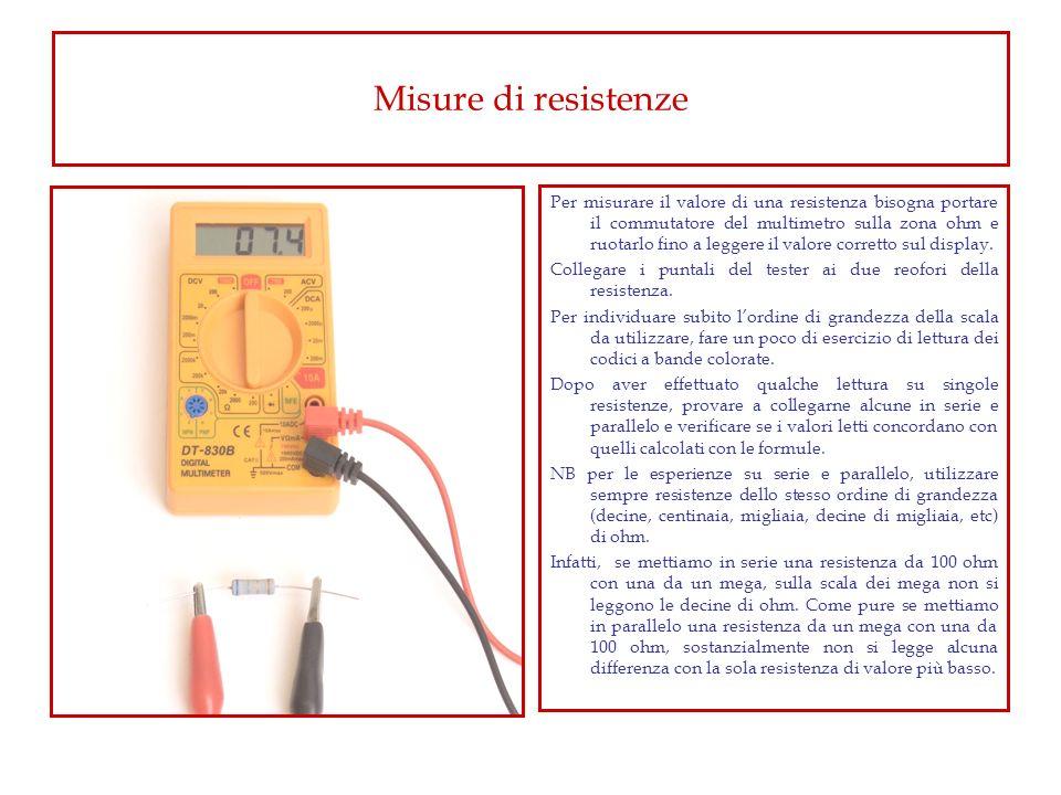 Misure di resistenze