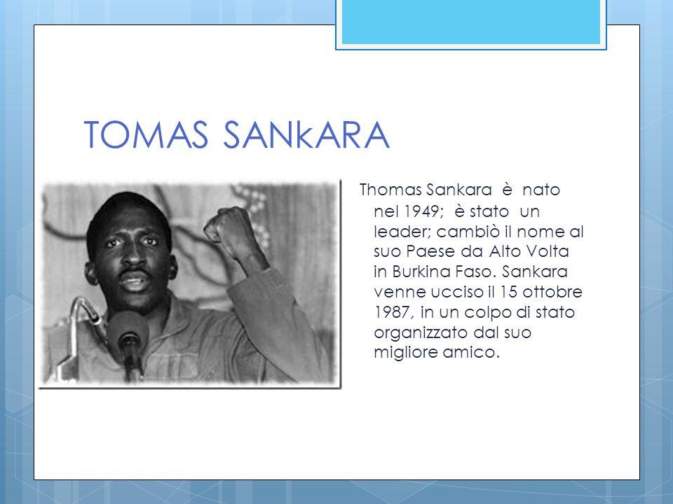 TOMAS SANkARA