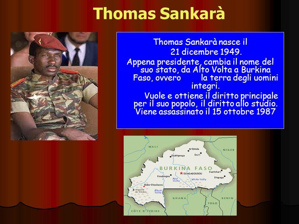 Thomas Sankarà nasce il