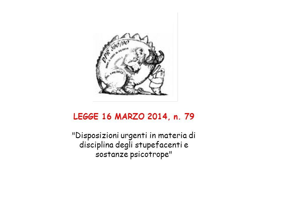 LEGGE 16 MARZO 2014, n.