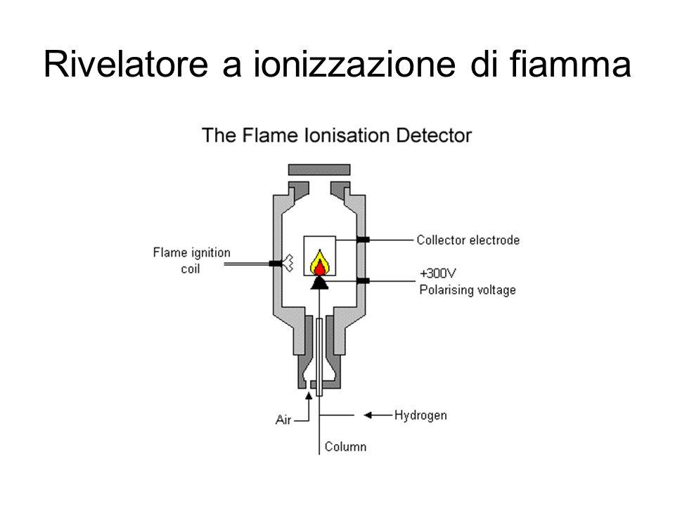 Rivelatore a ionizzazione di fiamma