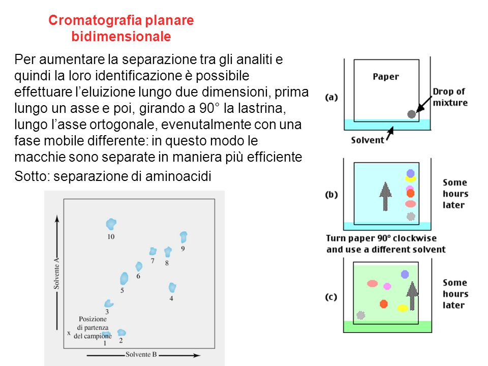 Cromatografia planare bidimensionale
