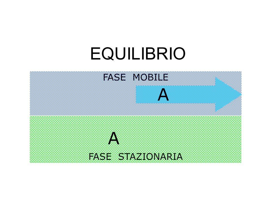 EQUILIBRIO FASE MOBILE A FASE STAZIONARIA A