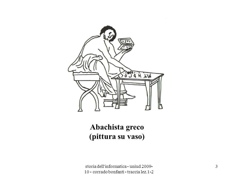 Abachista greco (pittura su vaso)