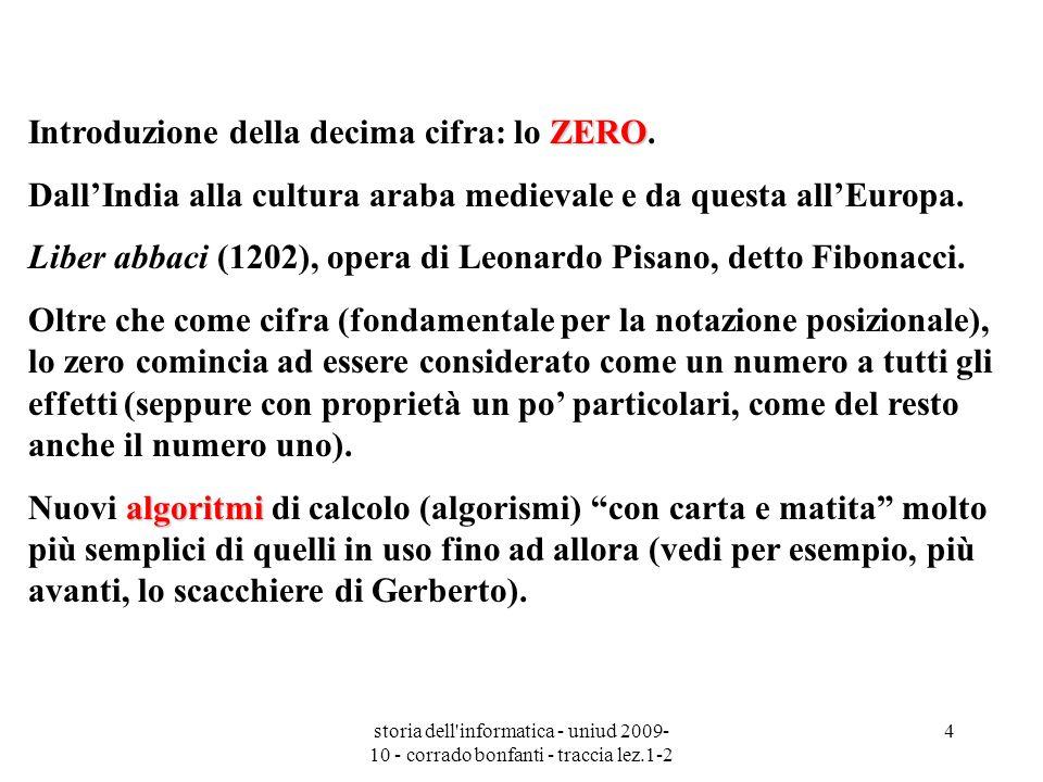 Introduzione della decima cifra: lo ZERO.