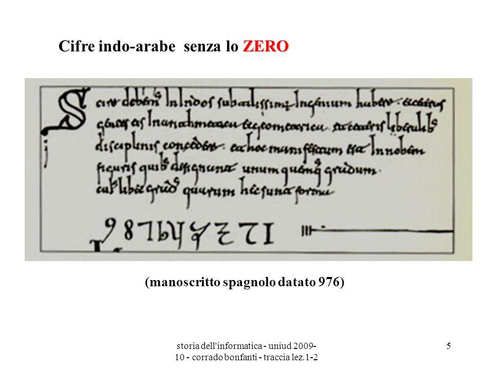 (manoscritto spagnolo datato 976)