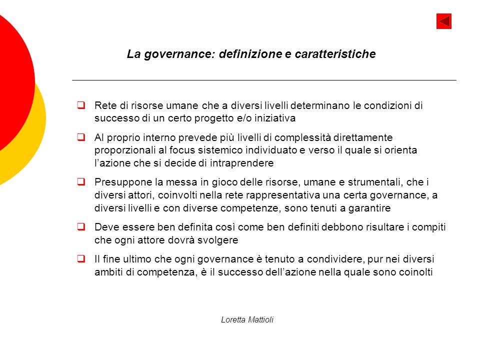 La governance: definizione e caratteristiche