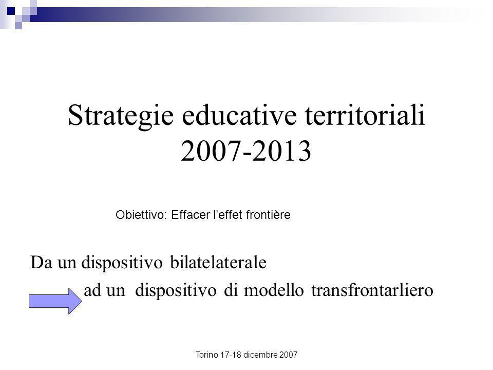 Strategie educative territoriali