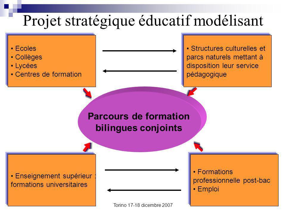 Projet stratégique éducatif modélisant