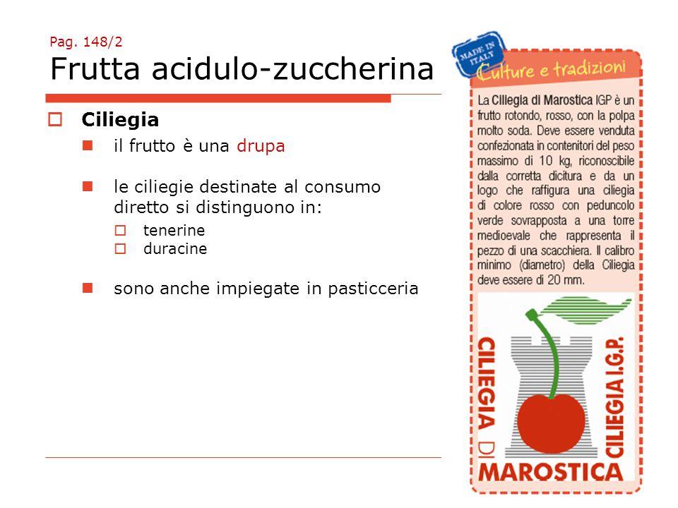 Pag. 148/2 Frutta acidulo-zuccherina