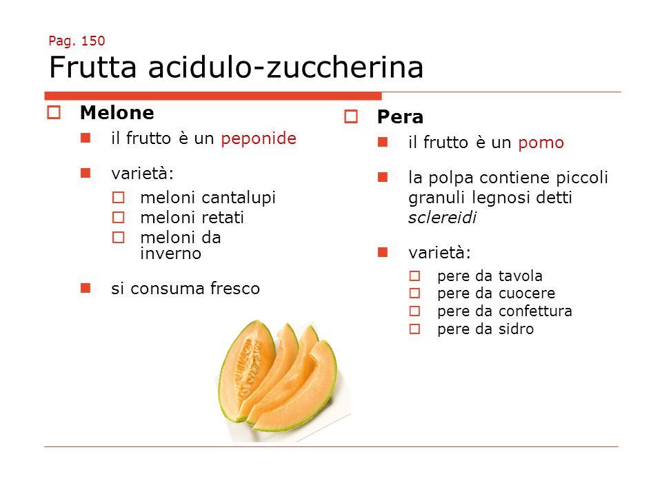 Pag. 150 Frutta acidulo-zuccherina