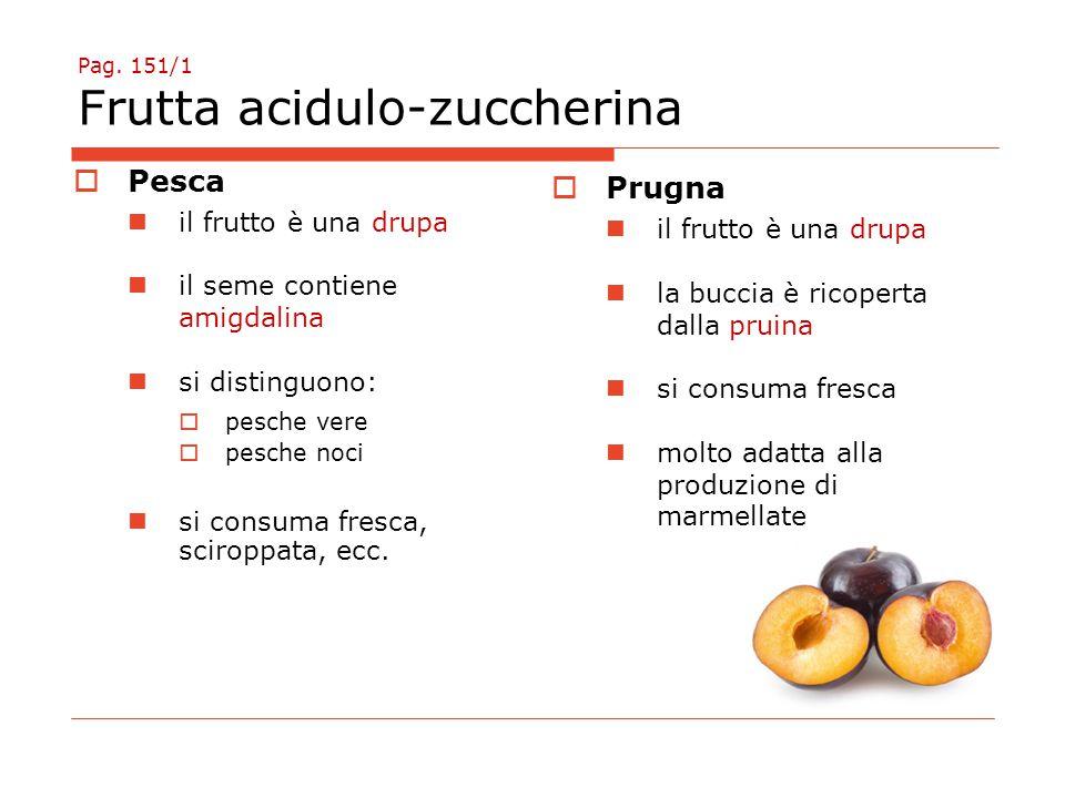 Pag. 151/1 Frutta acidulo-zuccherina