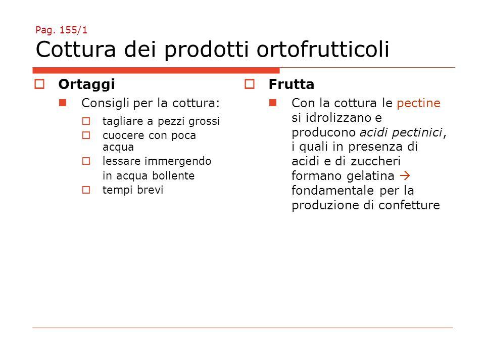 Pag. 155/1 Cottura dei prodotti ortofrutticoli