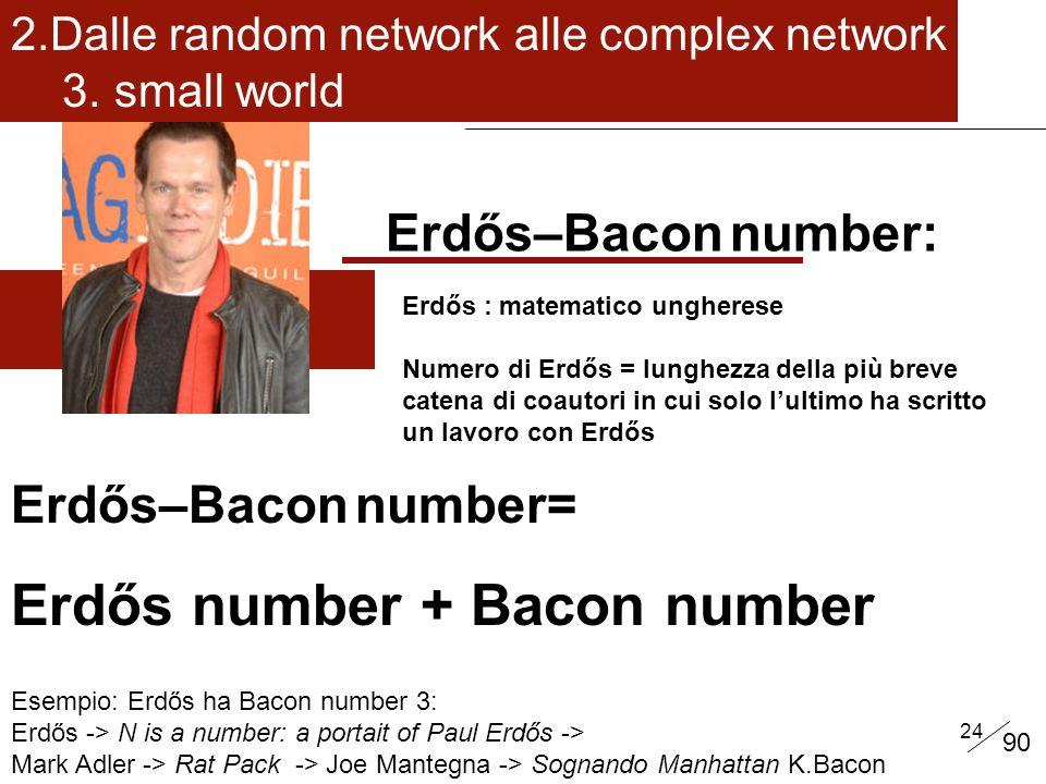 Erdős number + Bacon number
