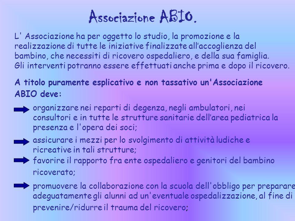 Associazione ABIO.